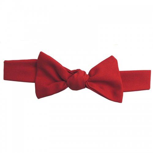 コーデのポイントに真っ赤なリボンのヘアバンド / Red Ribbon band