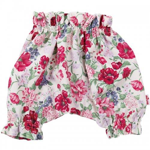 華やかな花柄ソフトブルマ(ピンク・パープル)