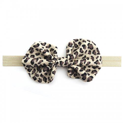 ヒョウ柄ヘアバンド/Leopard hair band