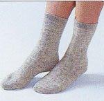 アンゴラ健康靴下・色グレー<BR>(Mサイズ22cm〜24cm)