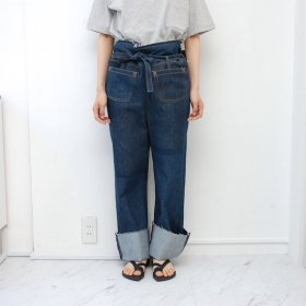 ��spoken words project��pocket pants��blue denim