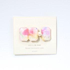 marumi03 宝石たち/儚い普遍性 バレッタ