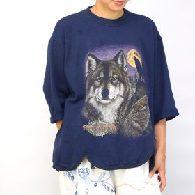 YEAH RIGHT !!  RIPPLE WAVE HEM SWEATSHIRTS