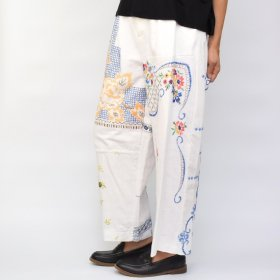 YEAH RIGHT !!  WIDE PANTS/TABLE CLOTH (size 1) A