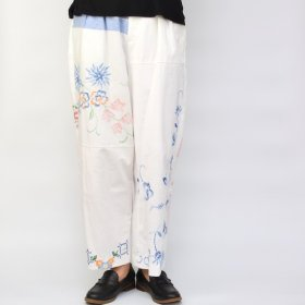YEAH RIGHT !!  WIDE PANTS/TABLE CLOTH (size 1) B