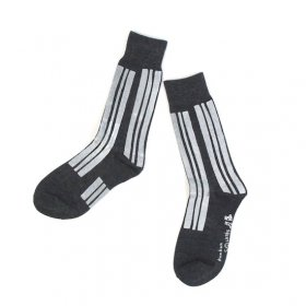 kunkun men's socksks モノトーン(stripe)