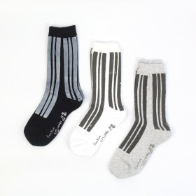 kunkun socksks モノトーン(stripe)