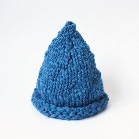 Head ööd ニット帽 マカロン / blue