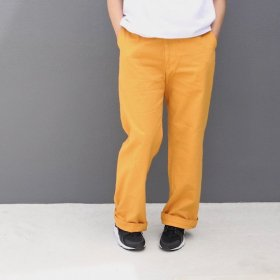 <img class='new_mark_img1' src='//img.shop-pro.jp/img/new/icons16.gif' style='border:none;display:inline;margin:0px;padding:0px;width:auto;' />maindish STANDARD RELAX PANTS / マスタード