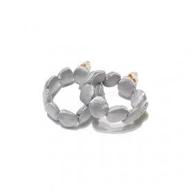 gungulparman  fabric products dots( hoop )/ silver