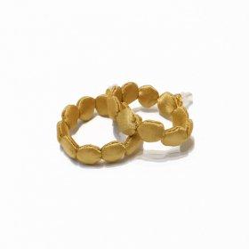 gungulparman  fabric products dots( hoop )/ gold