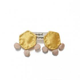 gungulparman  fabric products earring / F