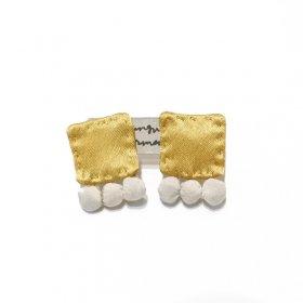 gungulparman  fabric products earring / G