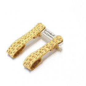gungulparman  fabric products earring / H