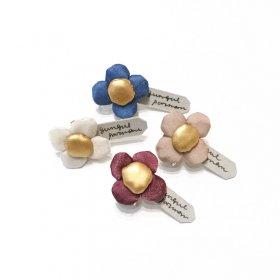 gungulparman  fabric products ohana / single earring