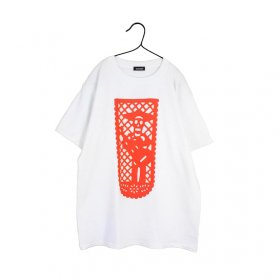 maindish パペルピカド Tシャツ (red)