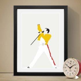Freddie Mercury フレディマーキュリー A3 アートポスター