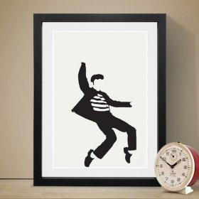 Elvis エルヴィス プレスリー A3 アートポスター