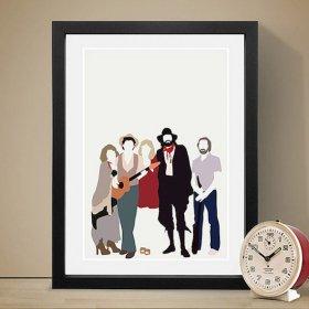Fleetwood Mac フリートウッド マック A3 アートポスター