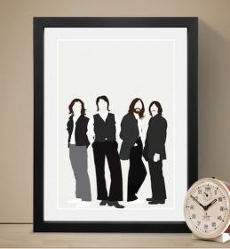 The Beatles ビートルズ A3 アートポスター