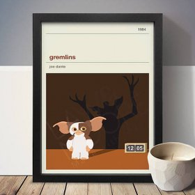 Gremlins グレムリン A3 アート ポスター 映画 movie A3 アートポスター