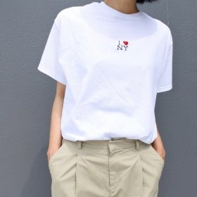 Any HAND-STITCH  I♡NY  Tシャツ