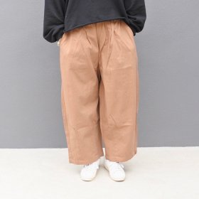 bono GUM WIDE TUCK PANTS (BEIGE)