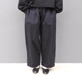 bono GUM WIDE TUCK PANTS (BLACK)