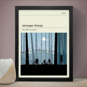 Stranger Things ストレンジャー・シングス A3 アート ポスター