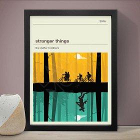Stranger Things (Y&G) ストレンジャー・シングス ドラマ A3 アート ポスター