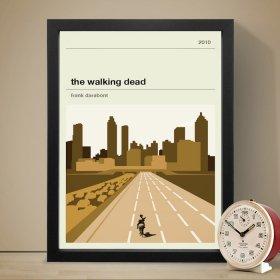 The Walking Dead Poster (City) ウォーキング・デッド  A3 アート ポスター
