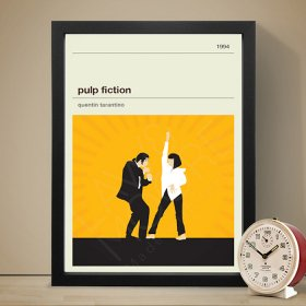 Pulp Fiction パルプ・フィクション 映画 movie A3 アート ポスター