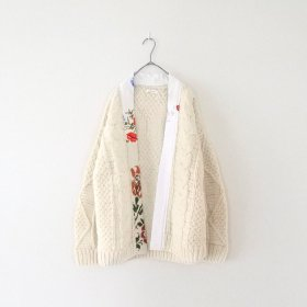 YEAH RIGHT !!  ARAN KNIT C/D / CAT