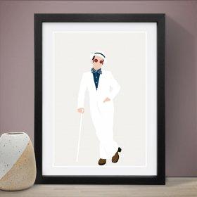 Elton John エルトンジョン A3 アートポスター