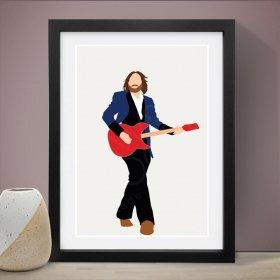 Tom Petty トムペティ A3 アートポスター