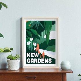 Anna Design Kew Gardens A3 アート ポスター