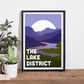 Anna Design The Lake District A3 アート ポスター