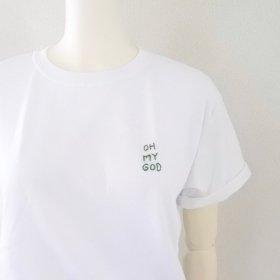 Any | HAND-STITCH  Tシャツ(OH MY GOD)