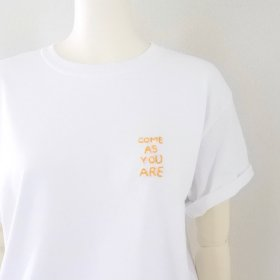 Any | HAND-STITCH  Tシャツ(COME AS YOU ARE)