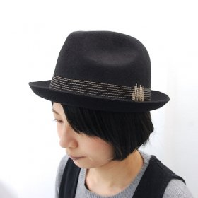 【GAIJIN MADE】POCKETABLE FELT HAT<img class='new_mark_img2' src='//img.shop-pro.jp/img/new/icons16.gif' style='border:none;display:inline;margin:0px;padding:0px;width:auto;' />
