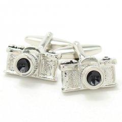 あなたも凄腕カメラマン・リアルなカメラのカフス(カフリンクス/カフスボタン)