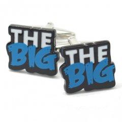 あなたの思いを込めて「THE BIG」の文字カフス(カフリンクス/カフスボタン)