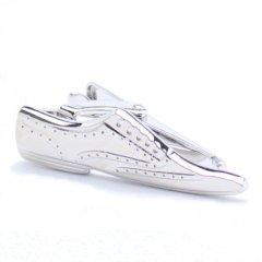 靴好きさんに!シルバー・靴のタイピン(ネクタイピン)