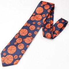 面白ネクタイ・バスケットのユニークネクタイ