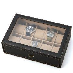 時計ボックス・Stackable・大事なコレクションをお洒落にすっきり収納できる男のウォッチケース