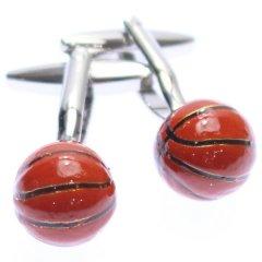 スラムダンク・バスケットボールのカフス(カフリンクス/カフスボタン)