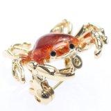 リアルな蟹のラペルピン・ブローチ