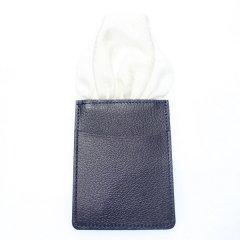 カードケース付きで型崩れしない・ホワイト・千鳥格子・ポケットチーフ・ポケットスクウェア