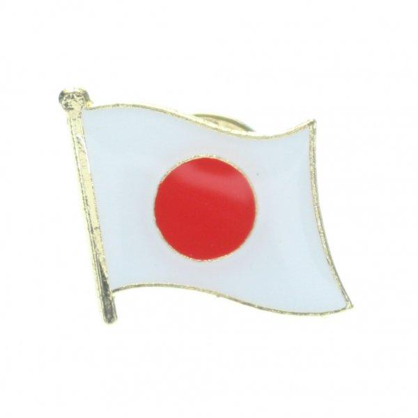 日本国旗・フラッグのラペルピン・ブローチ