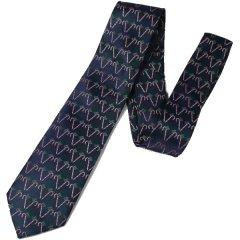 柊ヒイラギとクリスマスステッキのネクタイ